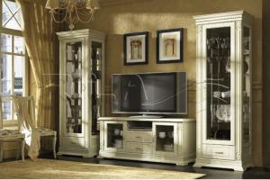 Гостиная из массива Verdi LUX - Мебельная фабрика «Rila»