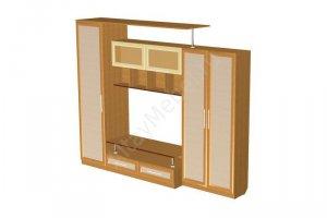 Гостиная Изаура 4 - Мебельная фабрика «Алтай-Командор»