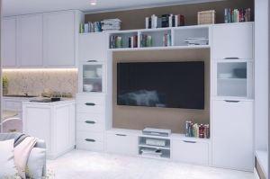 Гостиная Капри 9 - Мебельная фабрика «Эльба-Мебель»