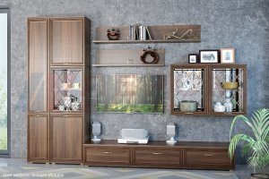 Гостиная Карина - композиция 1 - Мебельная фабрика «Лером»