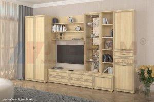Гостиная Карина - композиция 11 - Мебельная фабрика «Лером»