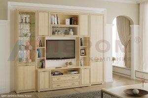 Гостиная Карина - композиция 2 - Мебельная фабрика «Лером»