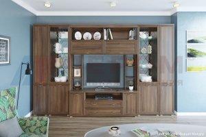 Гостиная Карина - композиция 4 - Мебельная фабрика «Лером»
