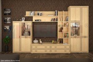 Гостиная Карина - композиция 5 - Мебельная фабрика «Лером»