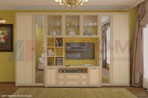Гостиная Карина - композиция 6 - Мебельная фабрика «Лером»