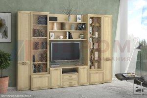 Гостиная Карина - композиция 7 - Мебельная фабрика «Лером»