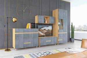 Гостиная стильная Киото - Мебельная фабрика «Столлайн»