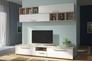 Гостиная ЛДСП 001-1 - Мебельная фабрика «МИКС»