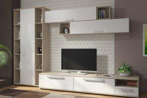Гостиная ЛДСП 001-2 - Мебельная фабрика «МИКС»
