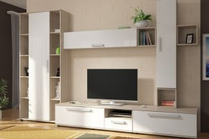 Гостиная ЛДСП 001-3 - Мебельная фабрика «МИКС»