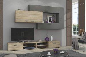 Гостиная ЛДСП 002 - Мебельная фабрика «МИКС»