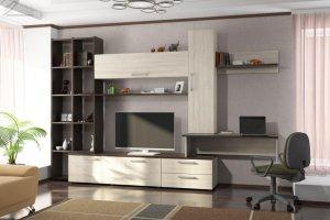 Гостиная ЛДСП 003 - Мебельная фабрика «МИКС»