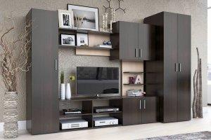 Гостиная ЛДСП 012 - Мебельная фабрика «МИКС»