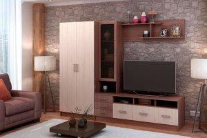 Гостиная ЛДСП 013-3 - Мебельная фабрика «МИКС»