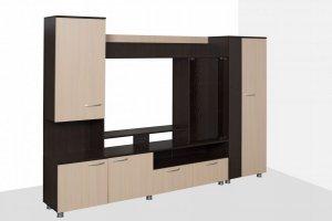 Гостиная ЛДСП Аллегро 3 - Мебельная фабрика «Милан»