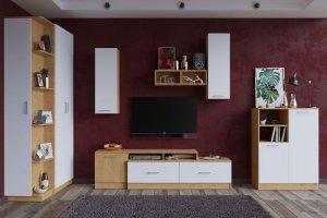 Гостиная Лего светлая 2 - Мебельная фабрика «Премиум»