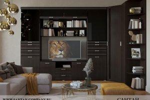 Гостиная Лотос 28 - Мебельная фабрика «САНТАН»
