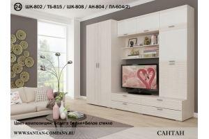 Гостиная Лотос новая - Мебельная фабрика «Сантан»