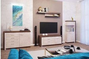 Гостиная Люмен камень светлый - Мебельная фабрика «Ижмебель»