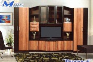 Гостиная стенка Макарена 6 - Мебельная фабрика «ДиВа мебель»