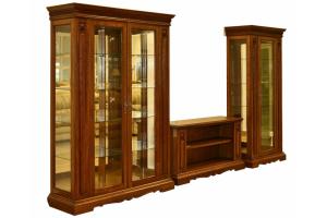 Гостиная Марселла Люкс-3 - Мебельная фабрика «Эксклюзив-Пинск»