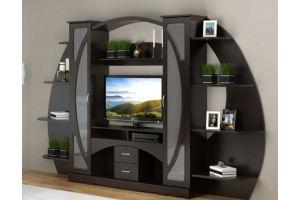 Гостиная МДФ 1 - Мебельная фабрика «Гранд-Мебель»