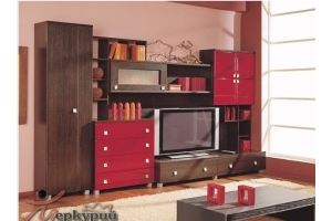 Гостиная МДФ Бали - Мебельная фабрика «Меркурий»