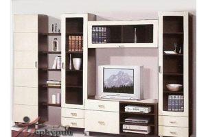 Гостиная МДФ Трио 2 - Мебельная фабрика «Меркурий»