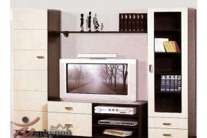 Гостиная МДФ Трио 7 - Мебельная фабрика «Меркурий»