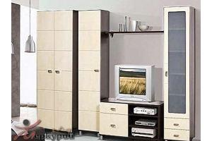 Гостиная МДФ Трио 8 - Мебельная фабрика «Меркурий»