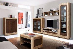 Гостиная мебель Фантазия 1 - Мебельная фабрика «Олмеко»