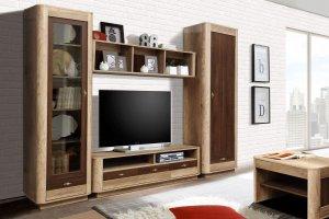 Гостиная мебель Фантазия 2 - Мебельная фабрика «Олмеко»