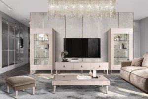 Гостиная мебель Римини беж - Мебельная фабрика «Ярцево»