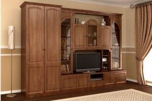 Гостиная мебель Валерия 1П - Мебельная фабрика «М-Сервис»