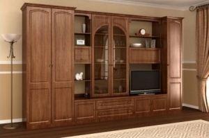 Гостиная мебель Валерия 2П - Мебельная фабрика «М-Сервис»