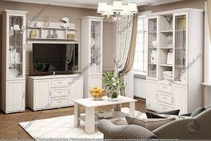 Гостиная модульная Классика 007 - Мебельная фабрика «Пеликан»