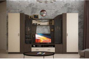 Гостиная модульная Марта 20 - Мебельная фабрика «Интерьер-центр»
