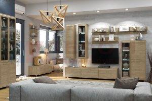 Гостиная модульная Мелисса 3 - Мебельная фабрика «Лером»