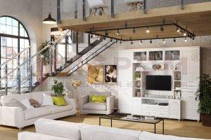Гостиная модульная Мелисса 4 - Мебельная фабрика «Лером»