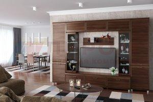 Гостиная модульная Мелисса 8 - Мебельная фабрика «Лером»