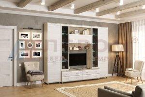 Гостиная модульная Мелисса 9 - Мебельная фабрика «Лером»