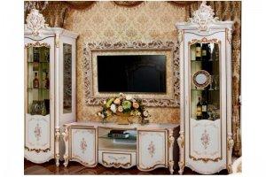Гостиная модульная светлая Шейх - Мебельная фабрика «Мэри-Мебель»