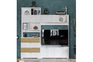 Гостиная модульная Терра - Мебельная фабрика «Сурская Мебель»