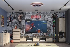 Гостиная Nature - Мебельная фабрика «Глазовская мебельная фабрика»