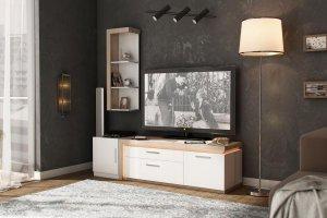 Гостиная Неон (Белая) - Мебельная фабрика «Любимый дом (Алмаз)»