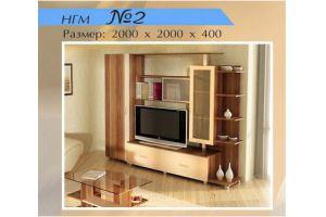 Гостиная НГМ 2 - Мебельная фабрика «Мебель Шик»