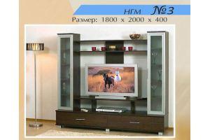 Гостиная НГМ 3 - Мебельная фабрика «Мебель Шик»