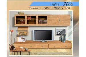 Гостиная НГМ 4 - Мебельная фабрика «Мебель Шик»