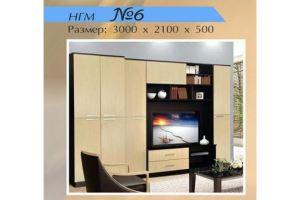 Гостиная НГМ 6 - Мебельная фабрика «Мебель Шик»