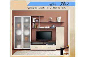 Гостиная НГМ 7 - Мебельная фабрика «Мебель Шик»